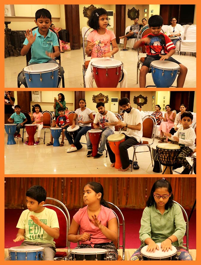 DJEMBE WORKSHOP